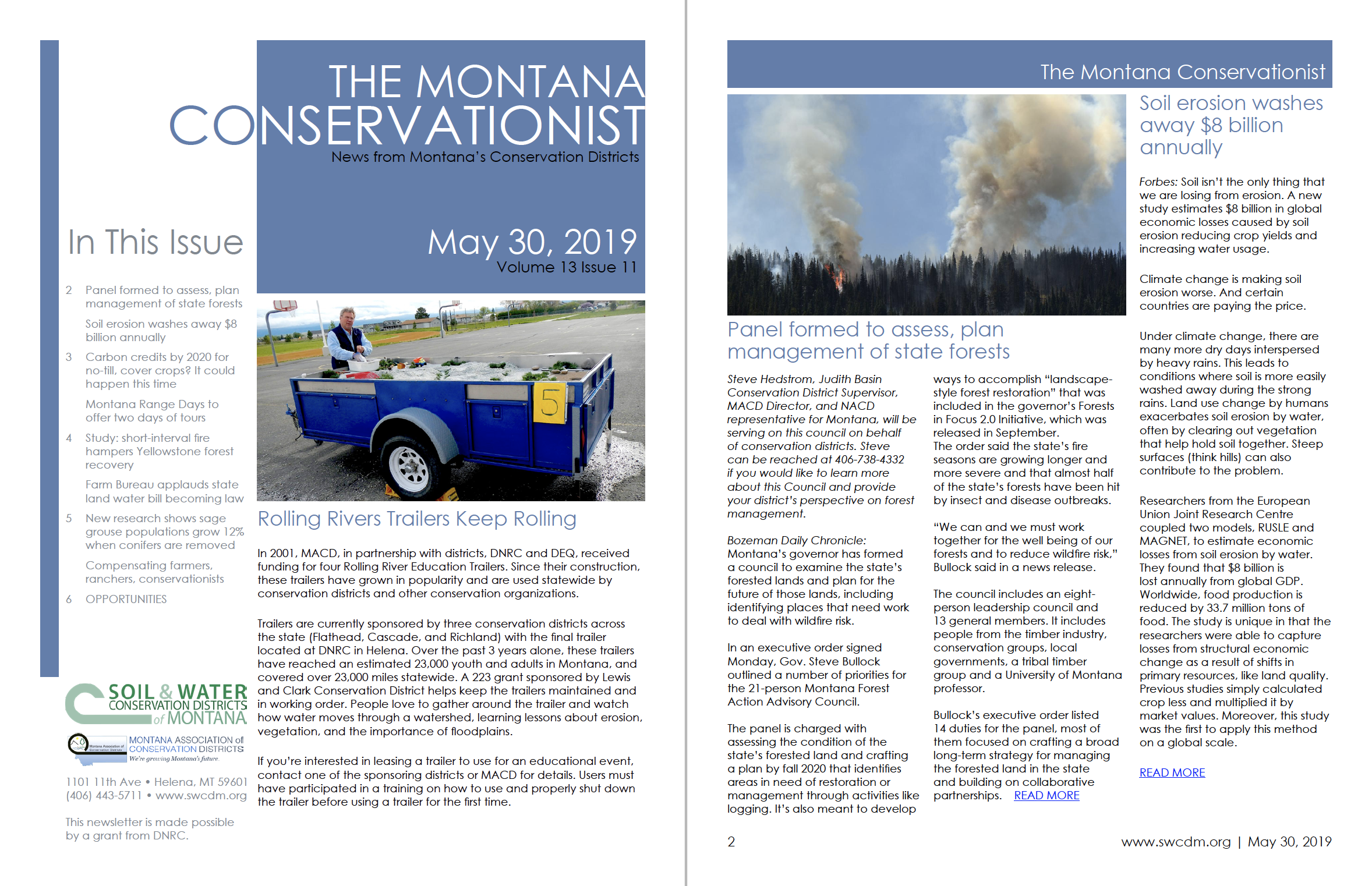 The Montana Conservationist May 30