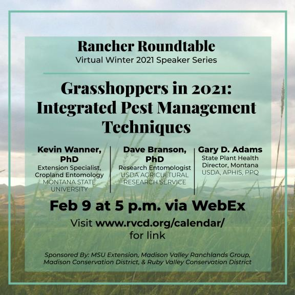 Rancher Roundtable Grasshoppers